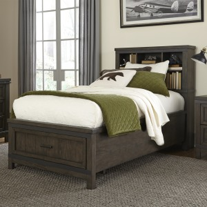 Thornwood Hills Twin Bookcase Bed