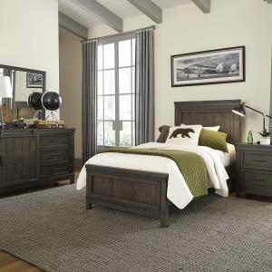 Thornwood Hills Twin Loft Bed Open
