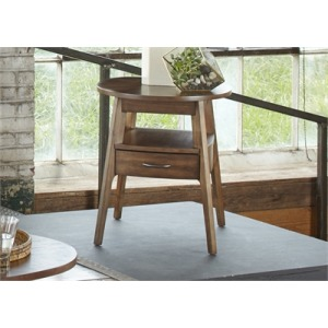 Landon Oval End Table