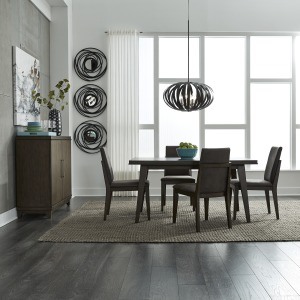 Ventura Blvd 5 Piece Rectangular Table Set