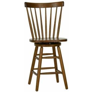 Creations II 24 Inch Swivel Counter Chair - Tobacco