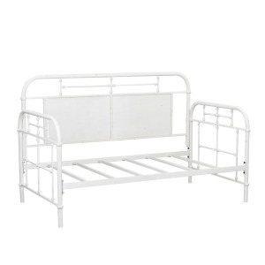 Vintage Series Twin Metal Day Bed - Antique White