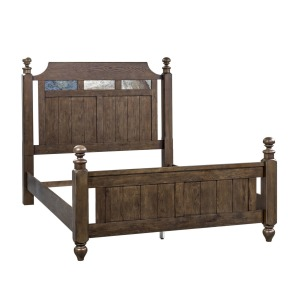 Hearthstone Queen Poster Bed