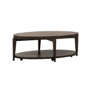 Penton Oval Cocktail Table