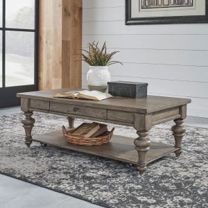 Americana Farmhouse Rectangular Cocktail Table