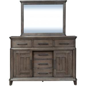 Artisan Prairie Dresser & Mirror