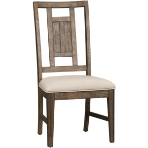 Artisan Prairie Lattice Back Side Chair (RTA)