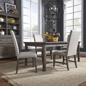 Artisan Prairie 5 Piece Rectangular Table Set