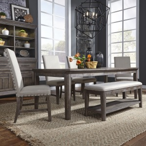 Artisan Prairie 6 Piece Rectangular Table Set