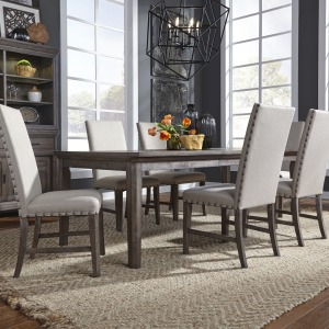 Artisan Prairie 7 Piece Rectangular Table Set
