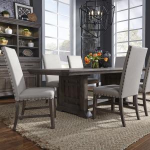 Artisan Prairie 7 Piece Trestle Table Set