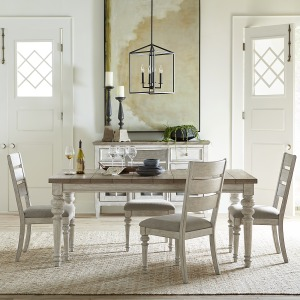 Heartland 5 Piece Rectangular Table Set