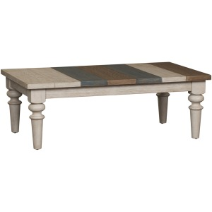 Heartland Rectangular Multi Color Cocktail Table