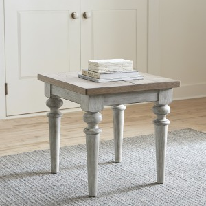 Rustic End Table