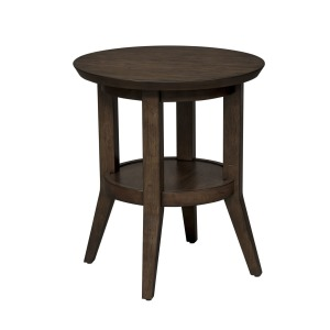 Ventura Blvd Round End Table