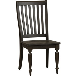 Harvest Home Slat Back Side Chair (RTA)