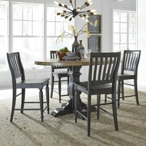 Harvest Home 5 Piece Gathering Table Set
