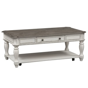 Magnolia Manor Rectangular Cocktail Table