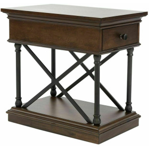 Tribeca Drawer Chair Side Table