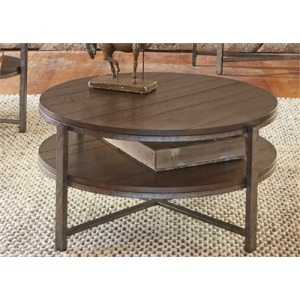 Breckinridge Round Cocktail Table