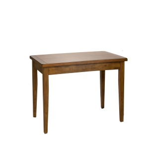 Treasures Solid Top Leg Table - Oak
