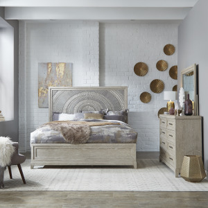 Belmar Queen Panel Bed, Dresser & Mirror