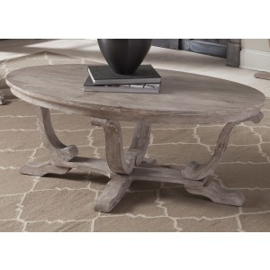 Greystone Mill Oval Cocktail Table
