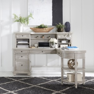 Harvest Home L Shaped Desk Set