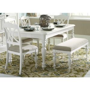 Summer House 6 Piece Rectangular Table Set