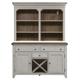 Farmhouse Reimagined Buffet & Hutch