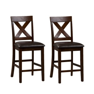 Thornton X Back Counter Chair- Pack of 2