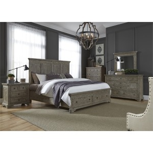 King Sleigh Bed by Liberty Furniture - 918-BR-KSL | Darbys' Big