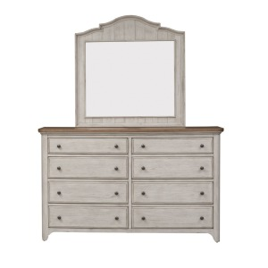Farmhouse Reimagined Dresser & Mirror