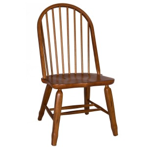 Treasures Bow Back Side Chair -  Oak