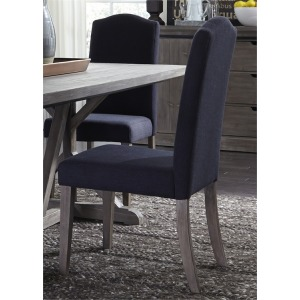 Carolina Lakes Upholstered Side Chair - Charcoal