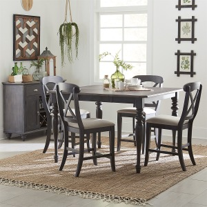 Ocean Isle 5 Piece Gathering Table Set