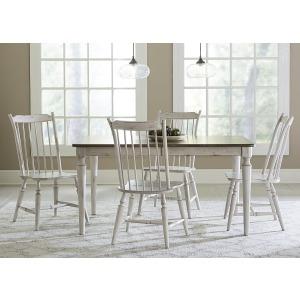 Oak Hill 5 Piece Rectangular Table Set