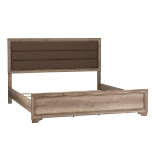 Sun Valley King Upholstered Panel Bed
