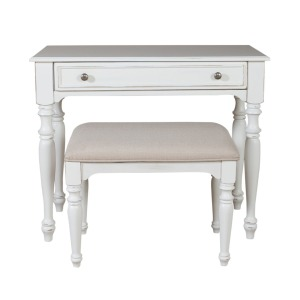 Chandler Accent Vanity Desk/Stool