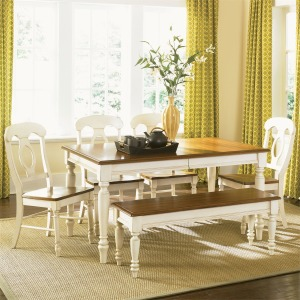 Low Country Opt 6 Piece Rectangular Table Set