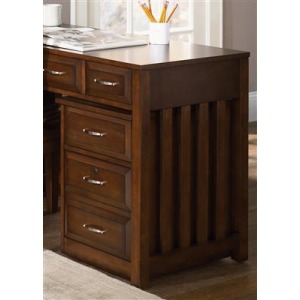 Hampton Bay Home Office Cherry Mobile Filing Cabinet