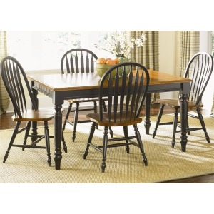 Low Country 5 Piece Rectangular Table Set