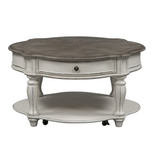 Magnolia Manor Round Cocktail Table