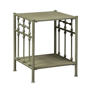Vintage Series Open Night Stand - Green