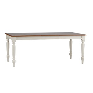 Low Country Sand Rectangular Leg Table