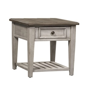 Heartland Drawer End Table