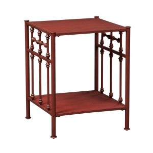 Vintage Series Open Night Stand - Red