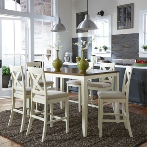 Thornton 7 Piece Gathering Table Set