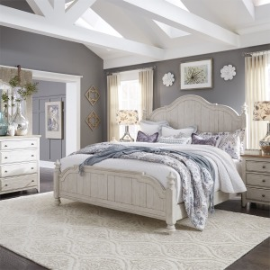 Farmhouse Reimagined 4 PC Queen Poster Bedroom Set