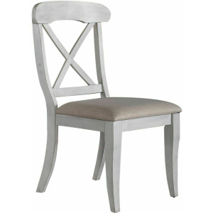 Ocean Isle Uph X Back Side Chair (RTA)